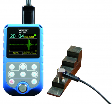 Ultrasonic Thickness Gauge, with Echo-Echo System (A+B-Scan)